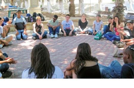 Encontro de jovens árabes e judeus