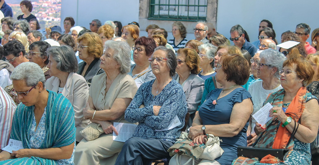 Festa da comunidade: Paróquia de Santo António dos Olivais, Coimbra. FOTO MSA / Dino