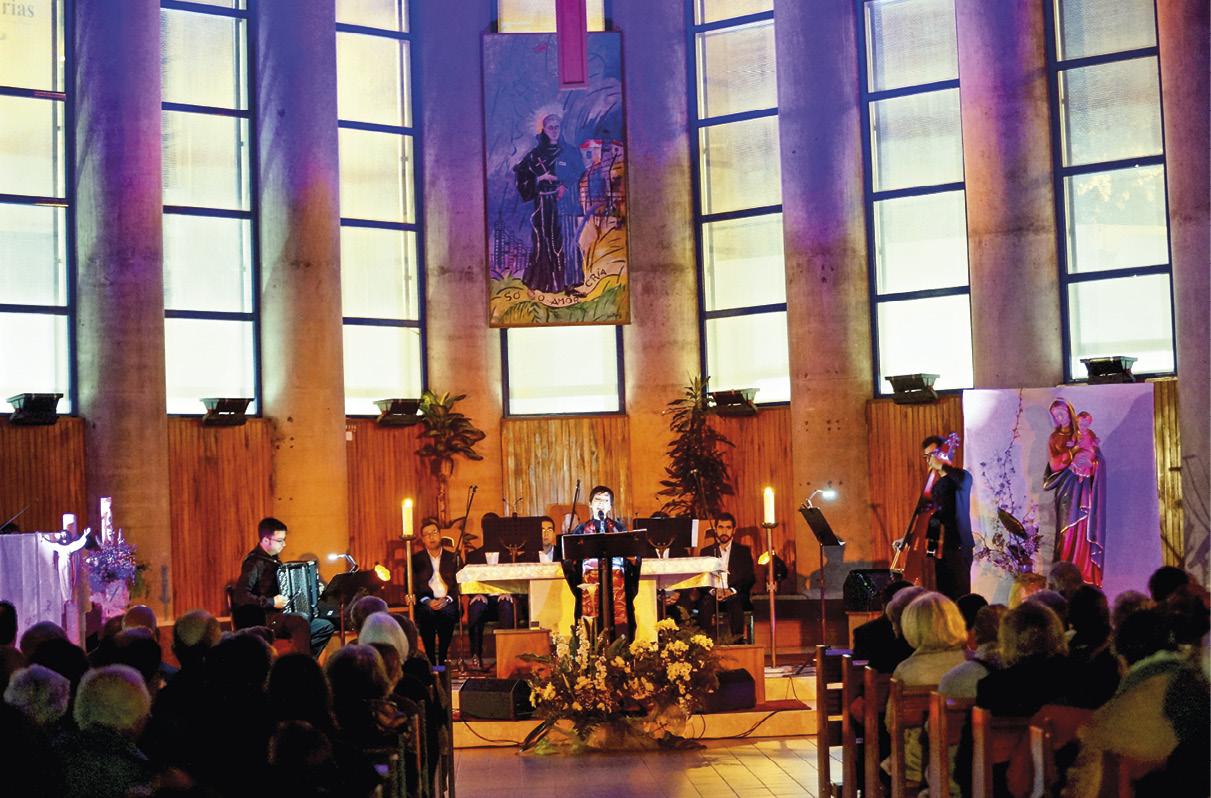Oratória Mariana, com Teresa Salgueiro,nos 25 anos da dedicação da igreja de S. Maximiliano Kolbe, Lisboa.