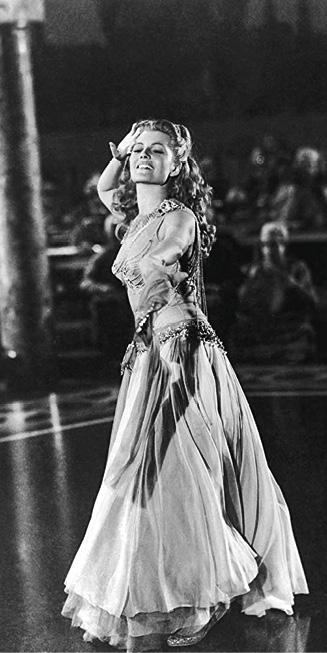 Rita Hayworth no papel de Salomé, filme de William Dieterle, 1953.