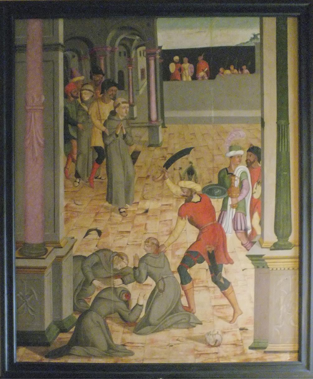 Os cinco mártires de Marrocos, igreja e convento de São Francisco, Guimarães. Foto Frei Severino | MSA.