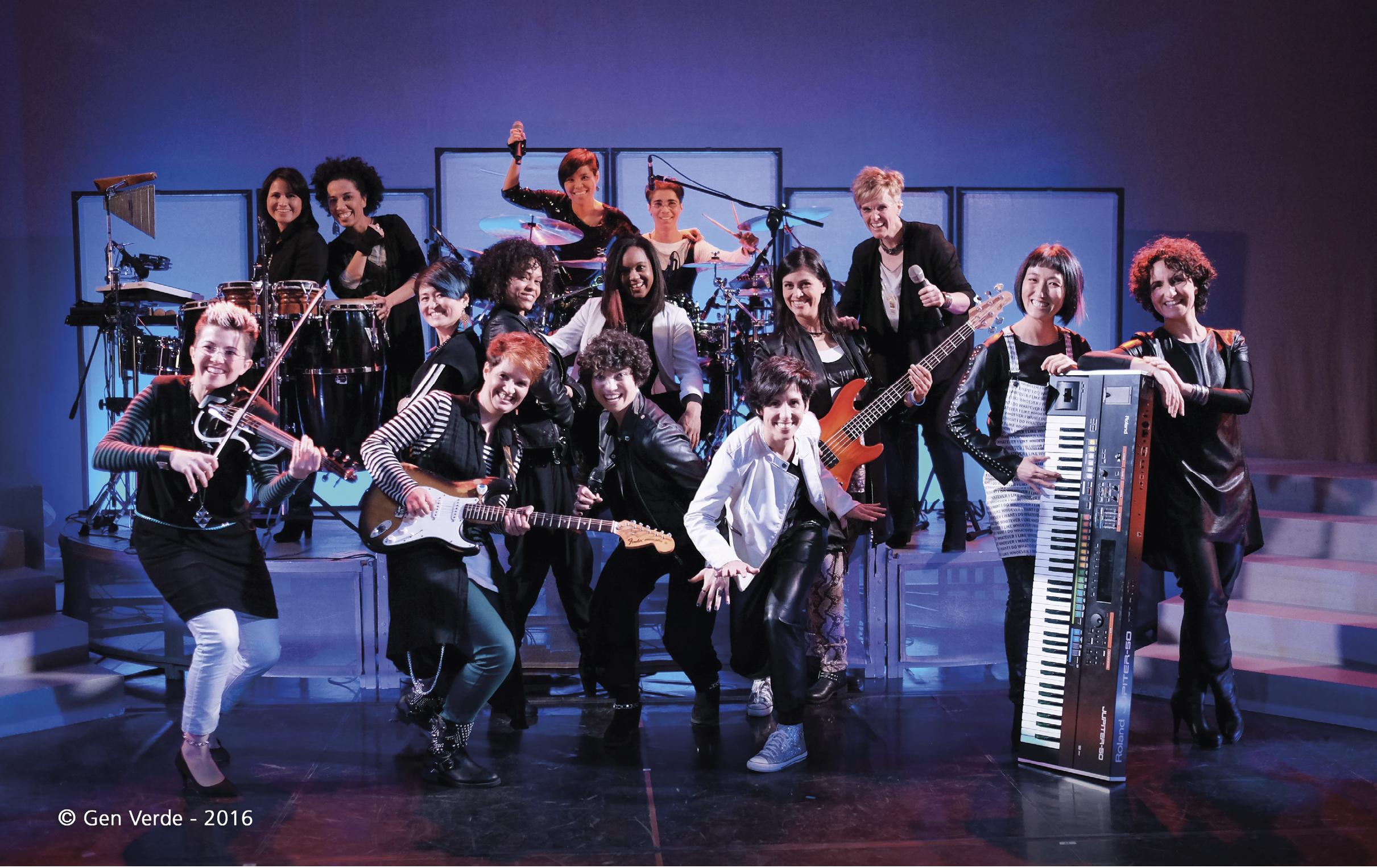 Grupo musical GEN VERDE, nascido em 1966, em Loppiano, no Centro Internacional do Movimento dos Focolares.