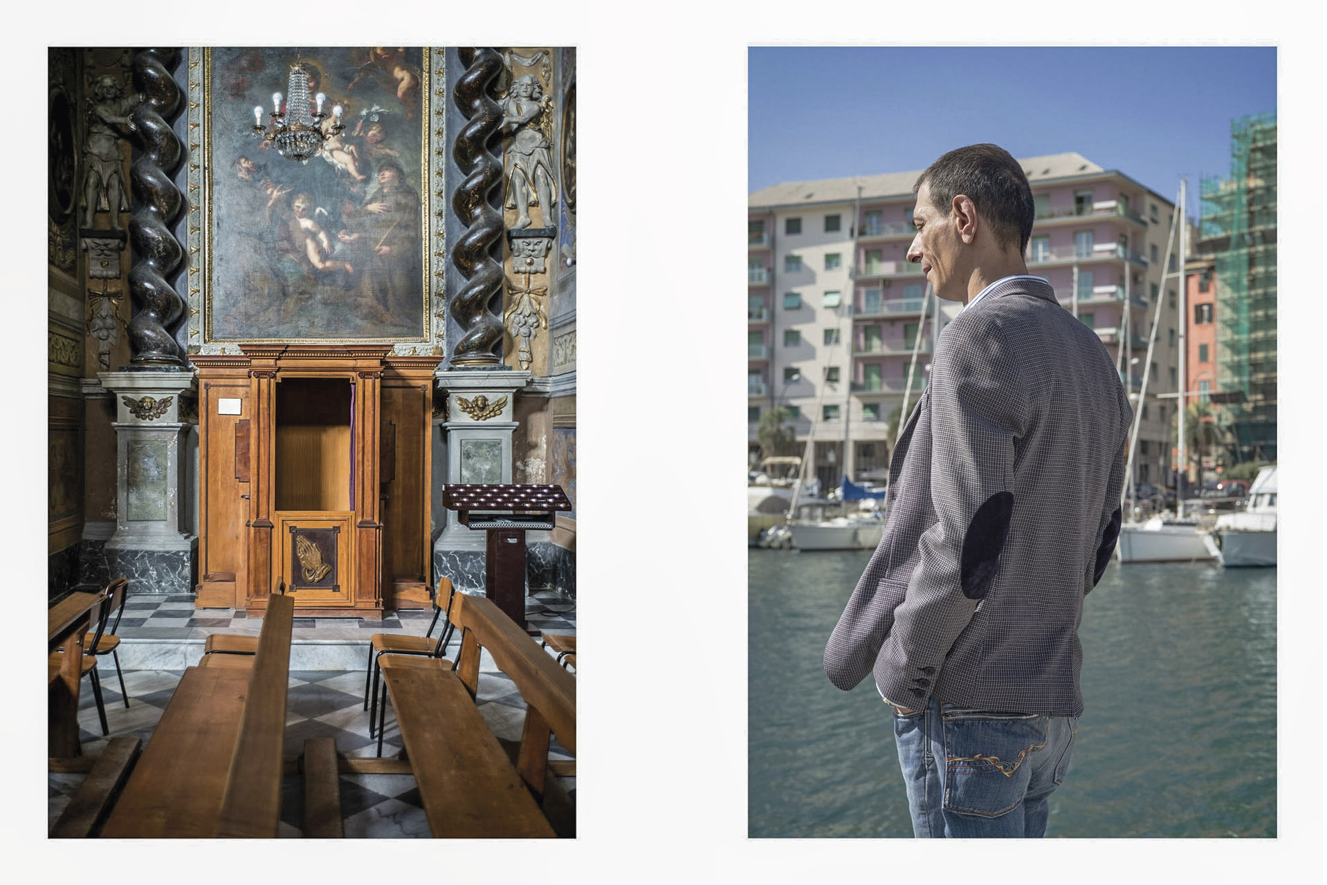 """""""Confiteor"""": imagens do projeto fotográfico de Tomaso Clavarino, sobre as feridas das vítimas de abusos sexuais por parte de membros do clero da Igreja Católica."""
