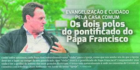 Correio de Coimbra: evangelização e cuidado com a casa comum, Juan Ambrosio