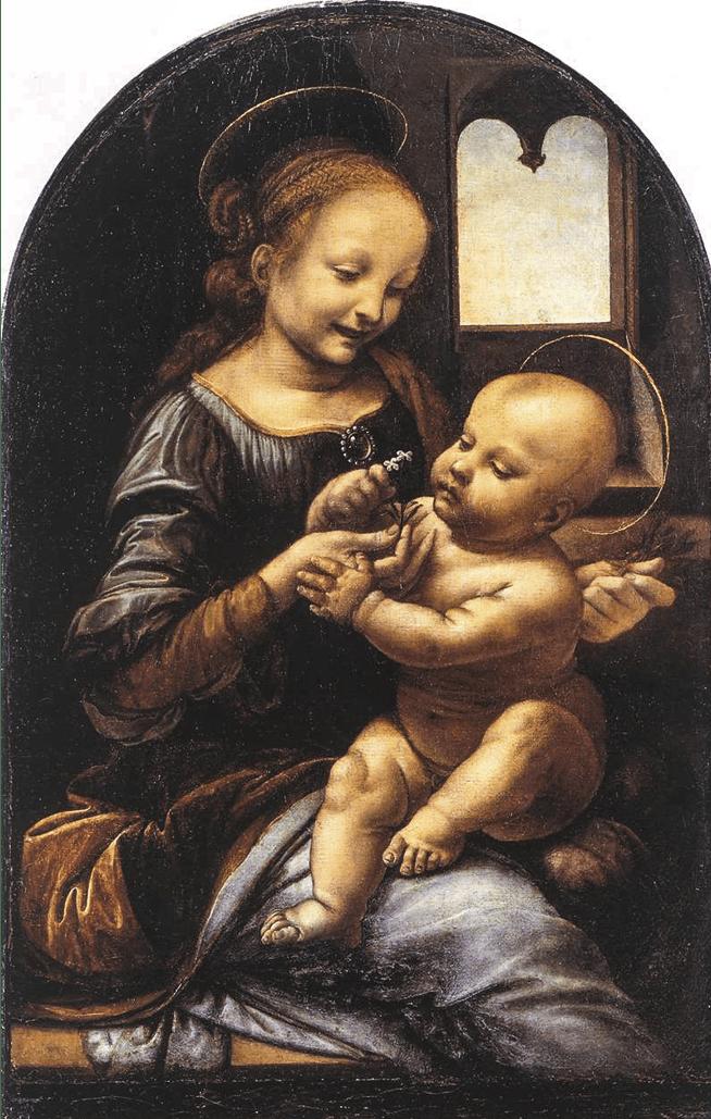 Leonardo da Vinci, A Virgem Benois