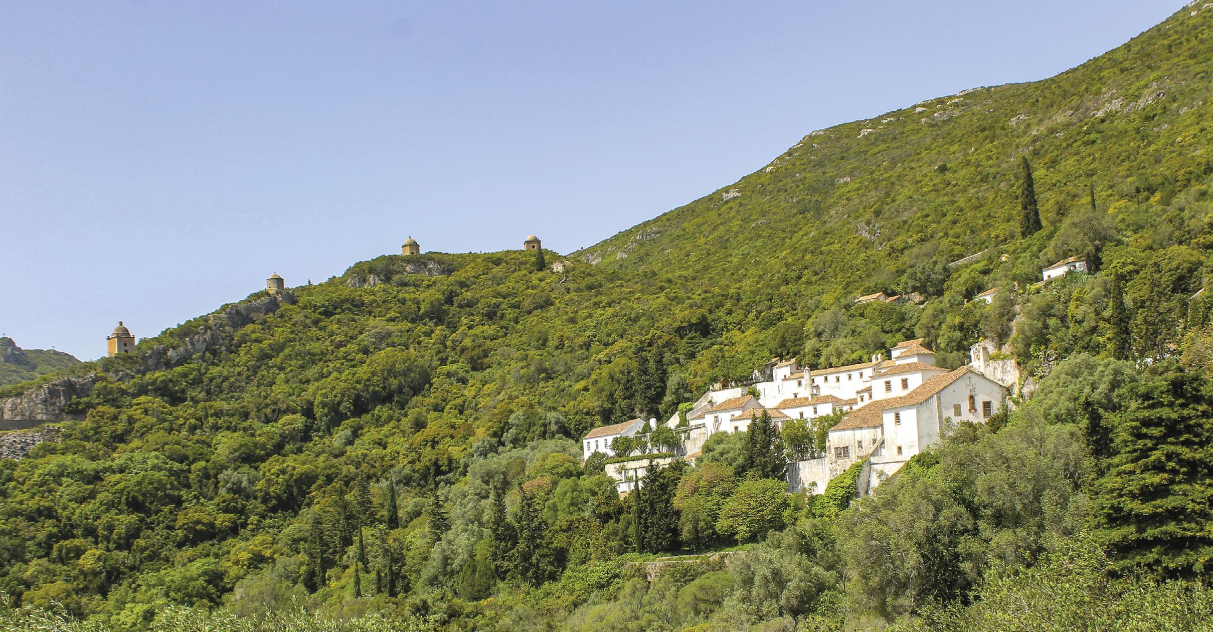 Serra da Arrábida e Convento da Arrábida