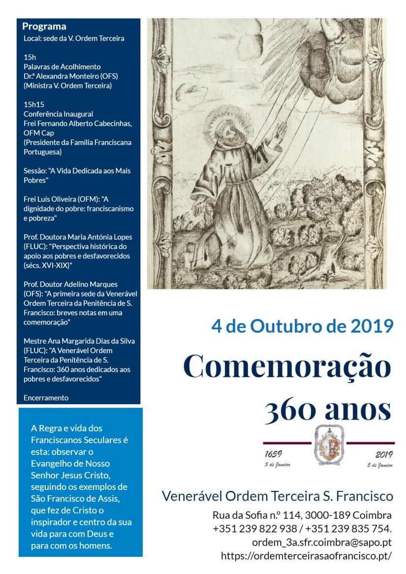 Comemoração 360 anos da Venerável Ordem Terceira S. Francisco