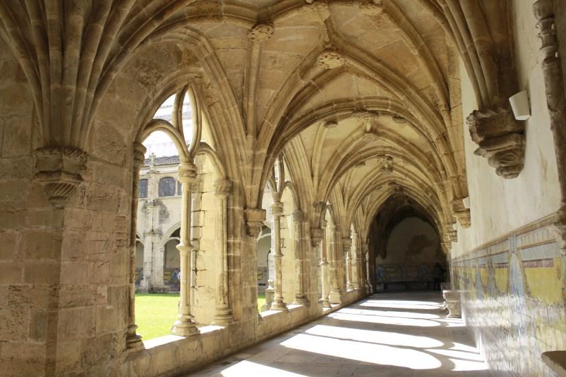 Claustros da Igreja de Santa Cruz, Coimbra. Foto MSA 2019.