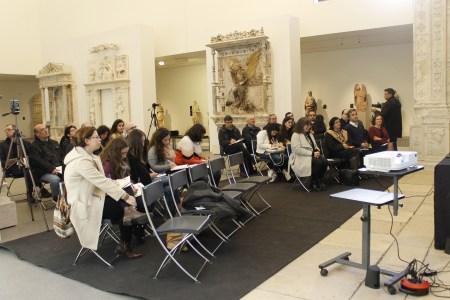 Conferência de Imprensa no Museu Nacional Machado de Castro, Coimbra