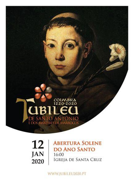 Abertura solene do Ano Santo a 12 de janeiro de 2020 na Igreja de Santa Cruz de Coimbra