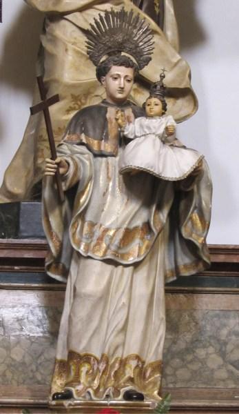 Santo António Cónego Regrante de Santo Agostinho, Igreja e antigo Convento do Grilo, atual Igreja Paroquial de São Bartolomeu do Beato, Lisboa.
