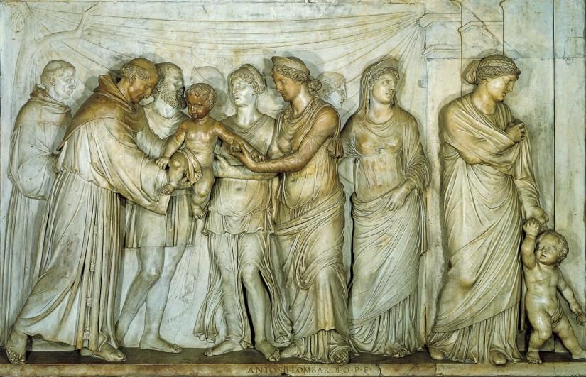 O recém nascido que fala: Basílica de Santo António de Pádua - Foto de Giorgio Deganello/Archivio Messaggero di sant'Antonio.