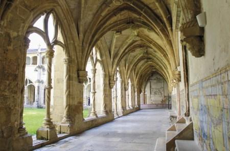 Claustros do Mosteiro de Santa Cruz de Coimbra. Foto: MSA 2020.