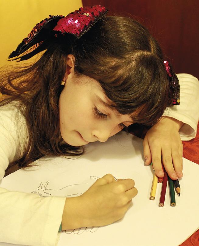 Ana Beatriz, a ilustradora. Foto MSA 2020