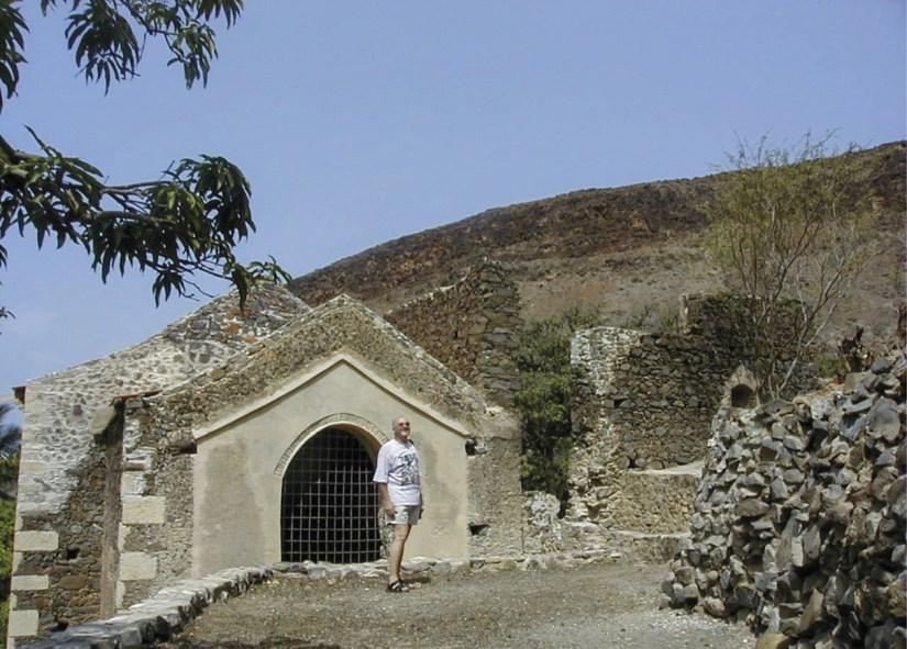 Convento de São Francisco, Cidade Velha, ilha de Santiago, Cabo Verde. Foto MSA 2005.