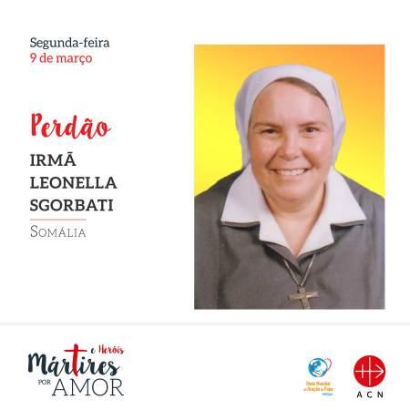PERDÃO - Somália: Irmã Leonella Sgorbati