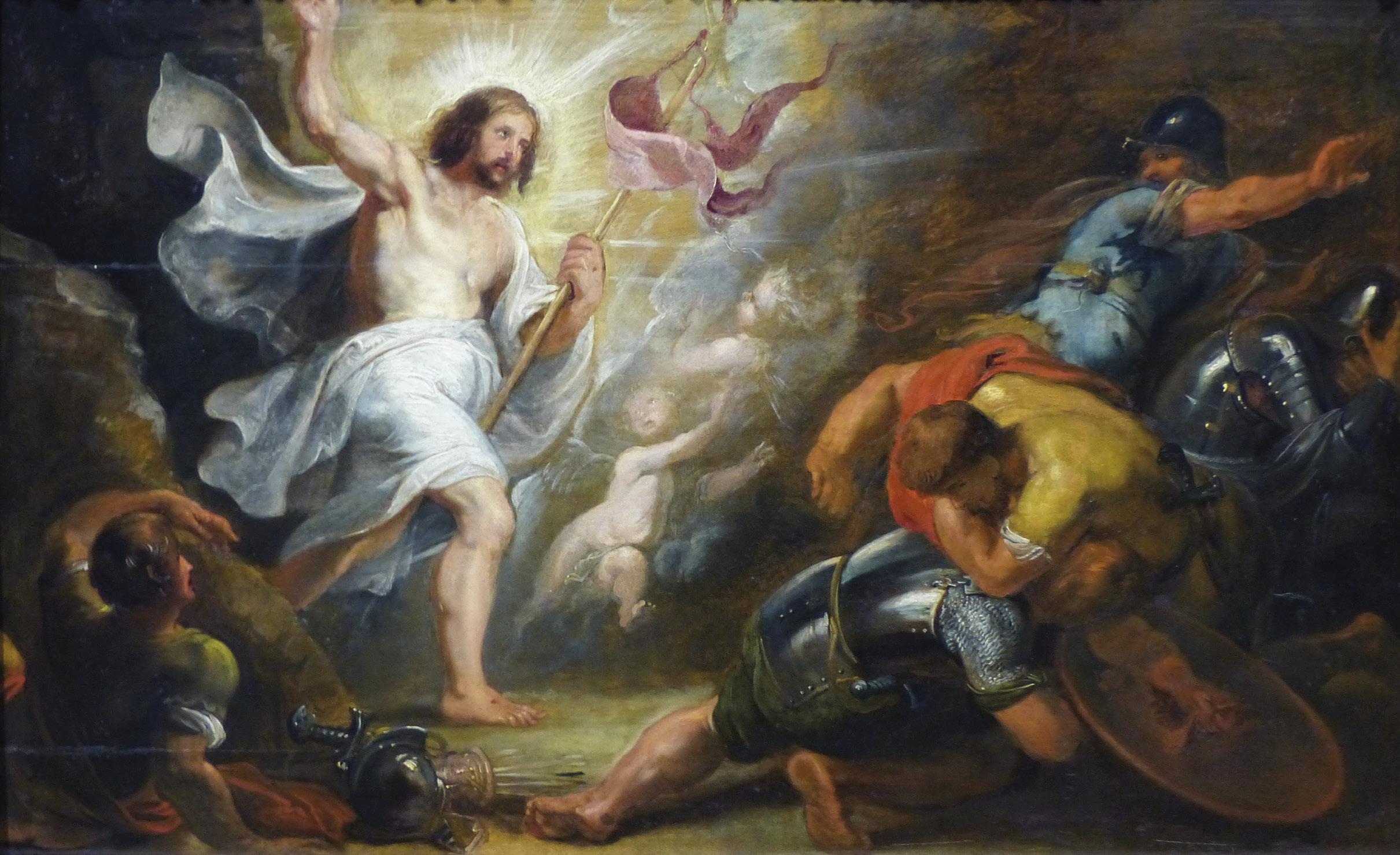 Ressurreição de Cristo, Peter Paul Rubens (1577-1640), Museu de Belas Artes, Marselha, França. Wikimedia Commons.