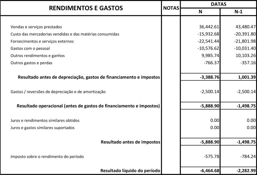 ACMSA Demonstração de Resultados 2019