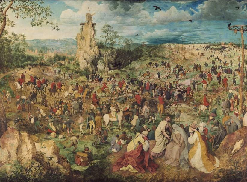 O Caminho da Cruz, Pieter Bruegel, o Velho (1564), Kunsthistorisches Museum, Viena, Austria | Wikimedia Commons.