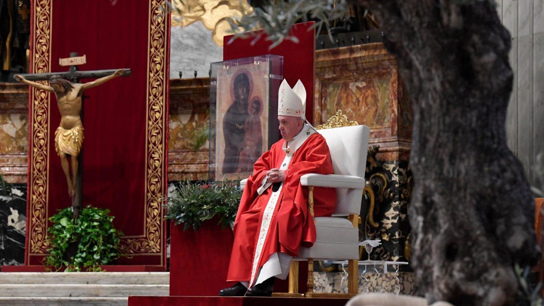Domingo de Ramos, Papa na Basílica de São Pedro