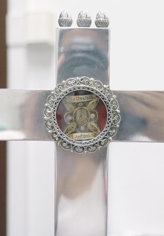 Relíquia que está na cripta