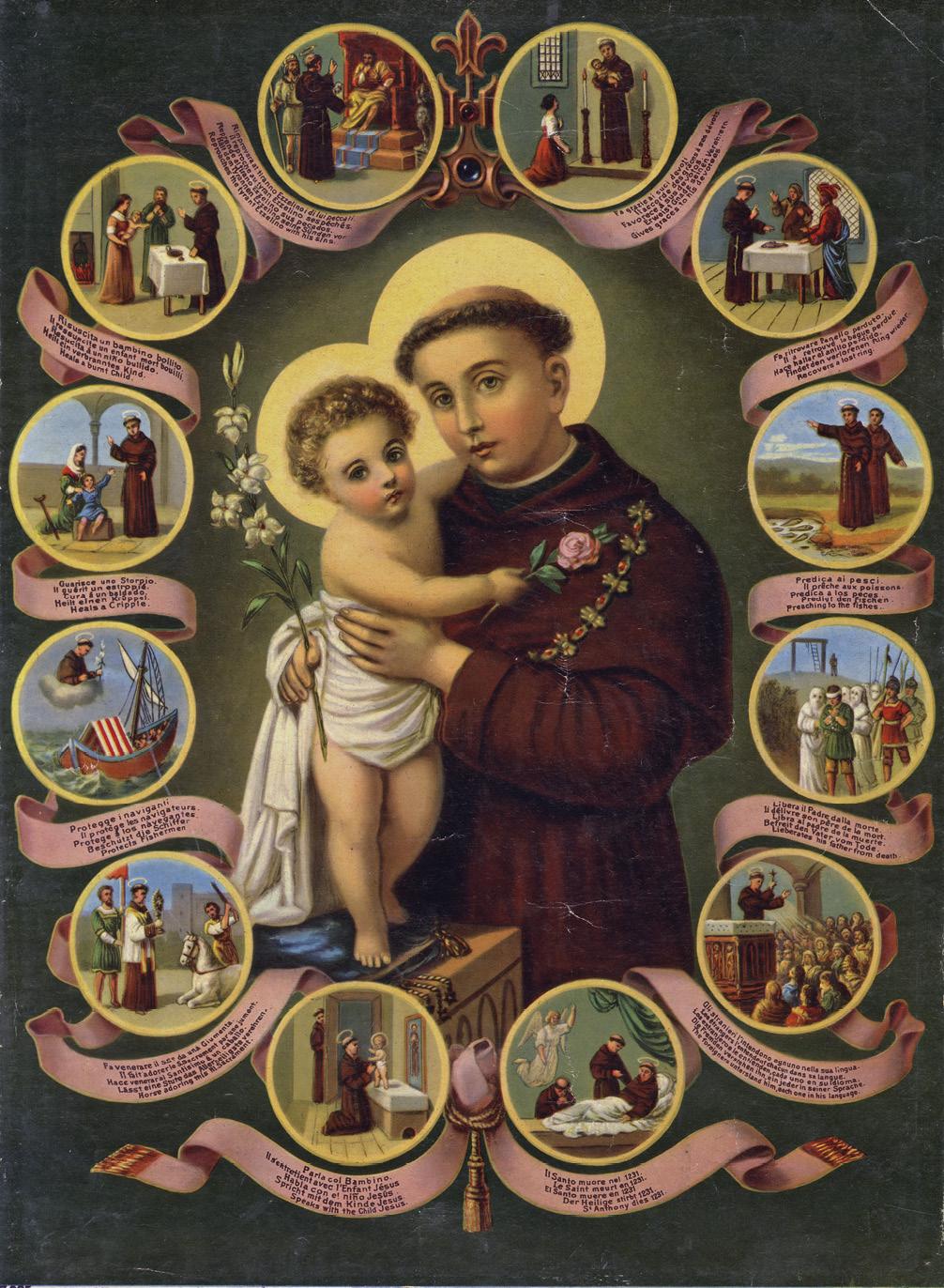 Vida de Santo António de Pádua, Folheto, Séc. XX. MA.IMP.0032
