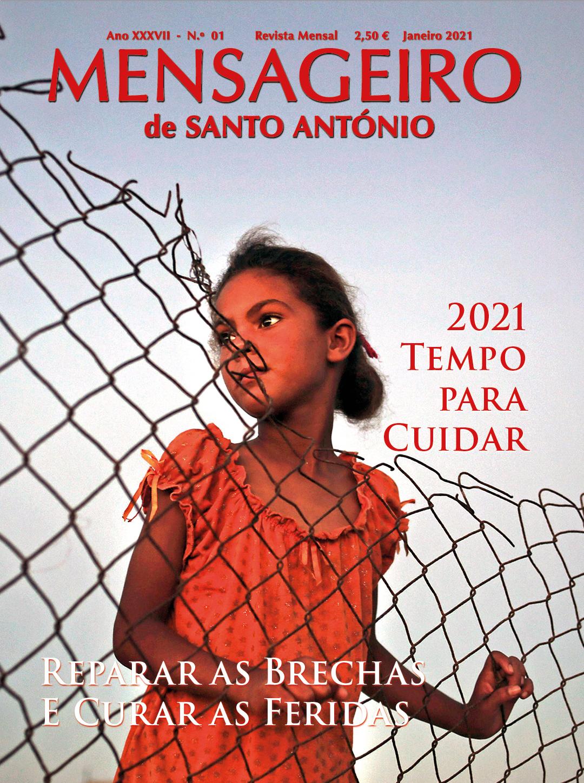 Mensageiro de Santo António - edição de janeiro 2021