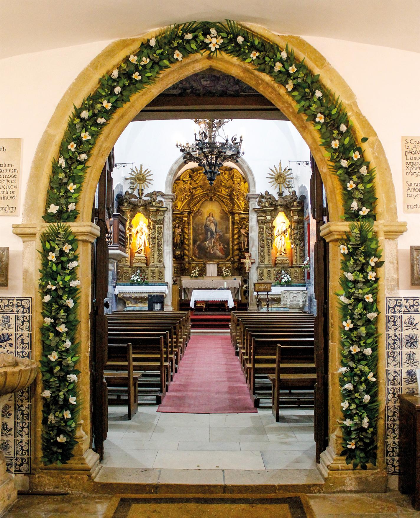 Porta Santa do Jubileu dos 800 anos da Vocação Franciscana de Santo António, na Igreja de Santo António dos Olivais, Coimbra