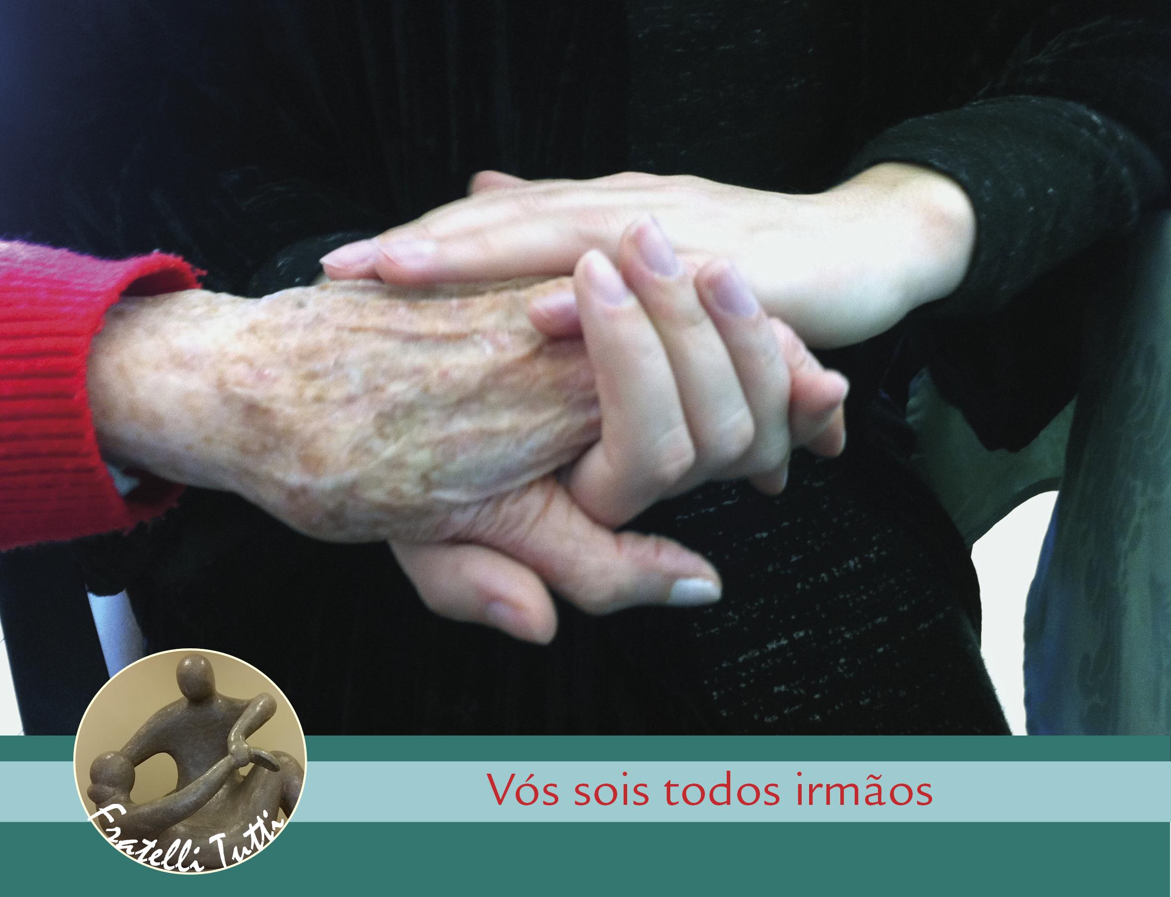 Avó e neta - Amar e ser amado, bens preciosos. Foto de Ana Vozone, 2017.