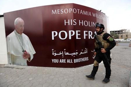 O Iraque prepara a visita do Papa com fortes medidas de segurança.