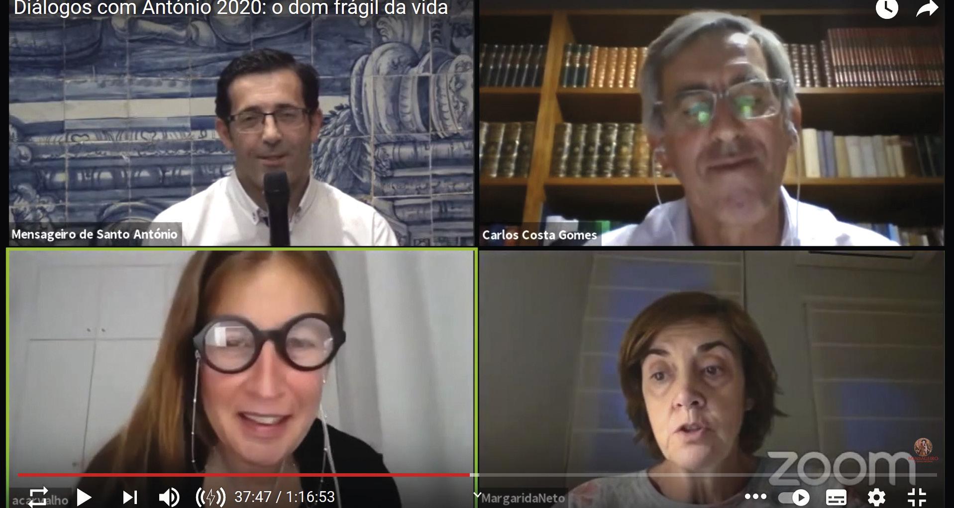 Diálogos com António 2020: o dom frágil da vida