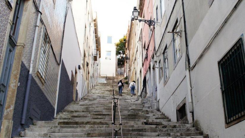 Escadaria – 11 de Outubro 2020 – Damasceno Monteiro. Foto de Clívio de Carvalho