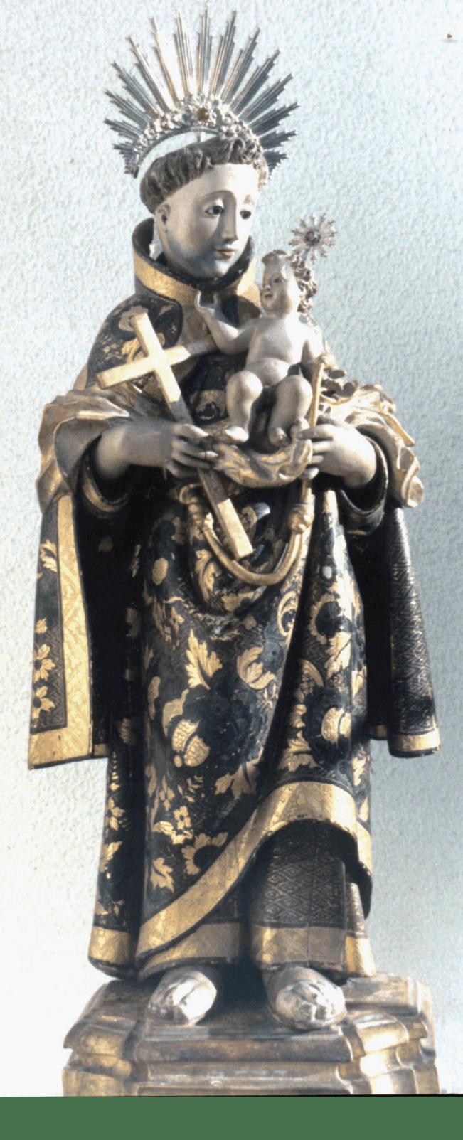 Fig 6 - Santo António com O Menino - Convento das Carmelita de Aveiro – MA Inv. 8/B