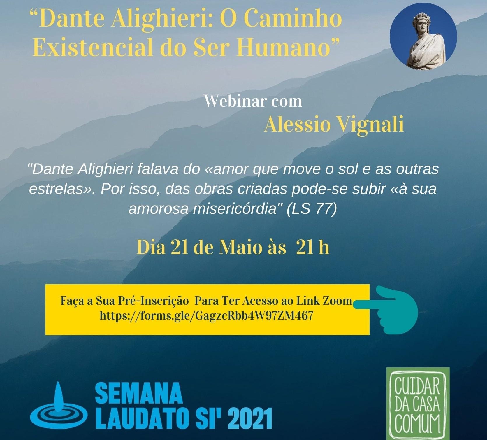 Dante Alighieri: o caminho existencial do ser humano, por Alessio Vignali