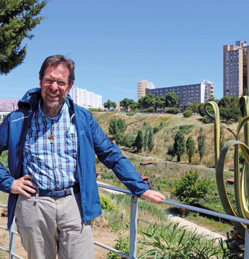 Frei Fabrizio Bordin, delegado provincial dos Frades Menores Conventuais em Portugal, pároco de Santa Beatriz da Silva e de São Maximiliano Kolbe, no Vale de Chelas, Lisboa.