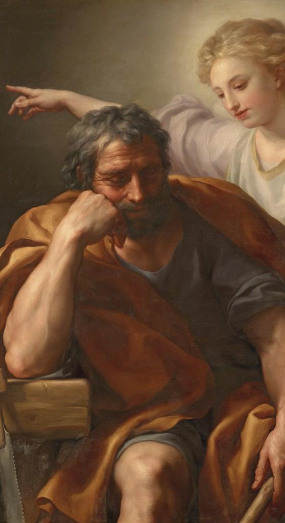 O sonho de José, Anton Raphael Mengs, sec XVIII, Museu de História da Arte, Viena, Áustria, Wikimedia Commons