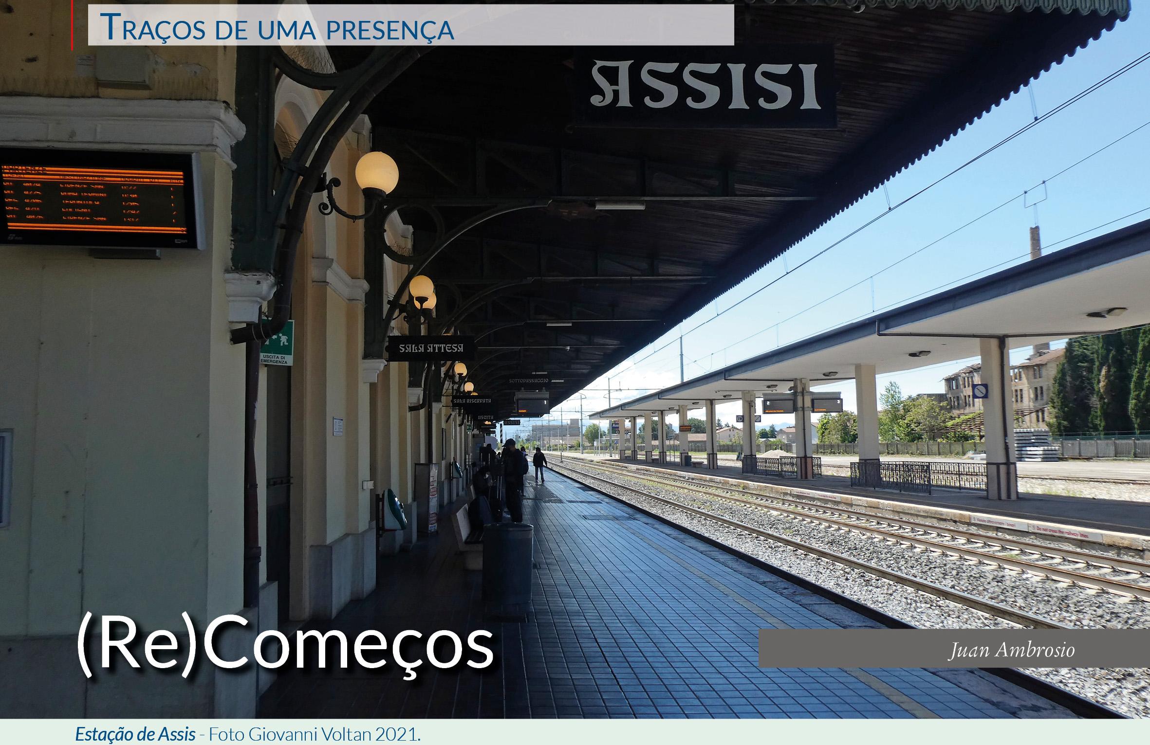 Estação de Assis - Foto Giovanni Voltan 2021.