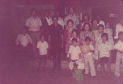 Rm. Ignatius Ismartono, SJ bersama umat