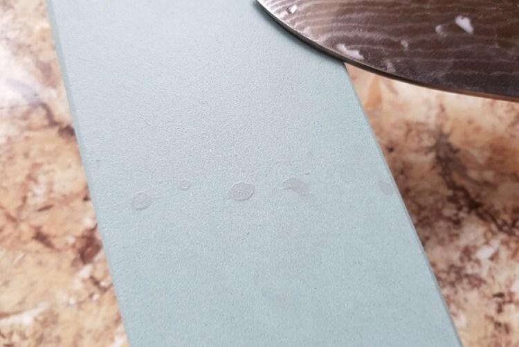 Schleifschleim im Detail