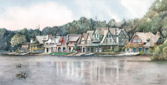 Boathouse Row 6 by N. Santoleri