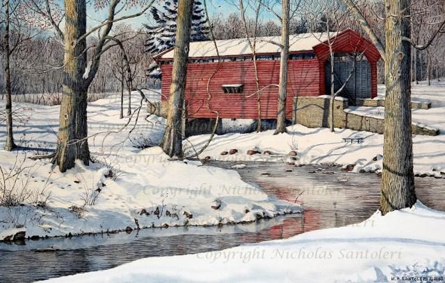 """""""Bartram Bridge"""" by N. Santoleri"""