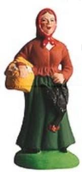 Femme A La Poule (Woman with Chicken)