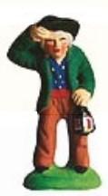 Homme a la Lanterne (Man with Lantern)