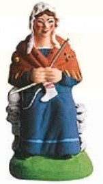 Tricoteuse (Knitter)