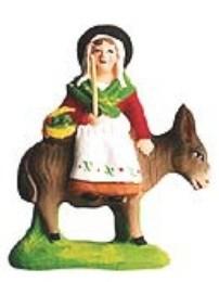Femme Sur L'Ane (Woman on Donkey)