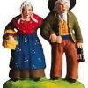 Couple De Vieux (Old Couple Walking)