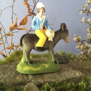 *Man on Donkey Gift Set