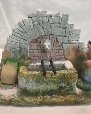 bassin lion santons de provence