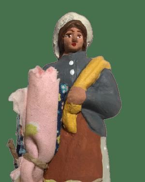 Chiffonnière santons de provence