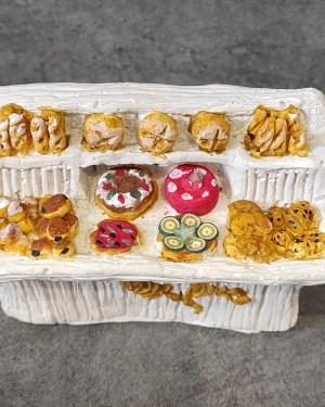 étal du boulanger santons de provence